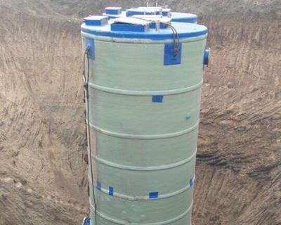 预制式一体化泵站运营管理方面的特点简介
