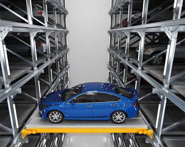 平面移动类立体停车设备