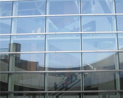 横明竖隐式玻璃幕墙