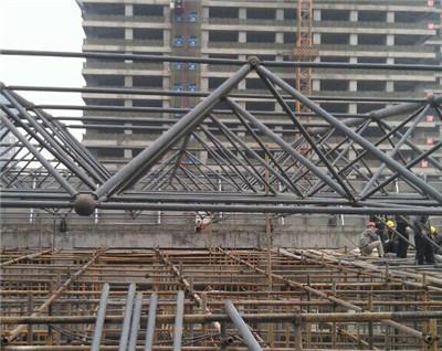 成都通威大厦屋顶网架项目
