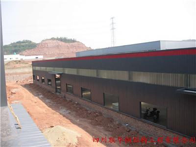 安岳瑞发食品厂-门钢结构15000㎡