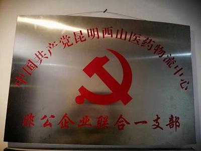 中共昆明西山医药物流中心非公企业联合一支部