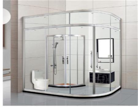 卫生间隔断安装,材料选择必不可少