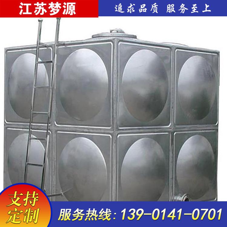 方形不锈钢消防水箱有哪些组成结构?-江苏梦源帮您解答