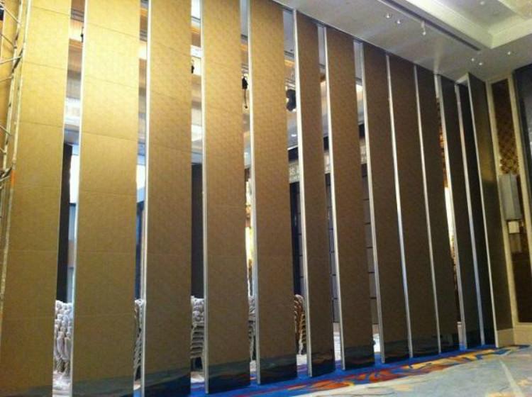 酒店活动隔断墙在酒店中的运用