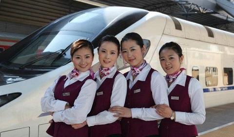 青岛华东航空艺术专修学校——你所不了解的高铁乘务专业!