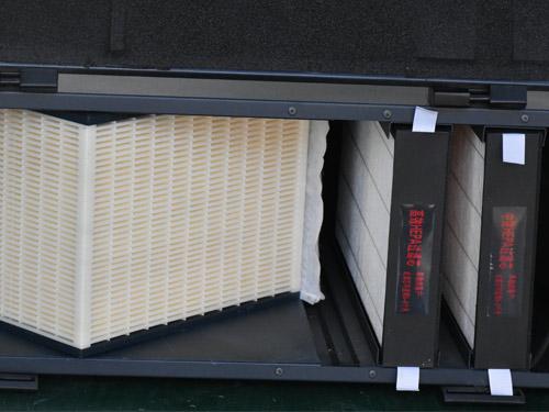 全热交换器多模块组合设计