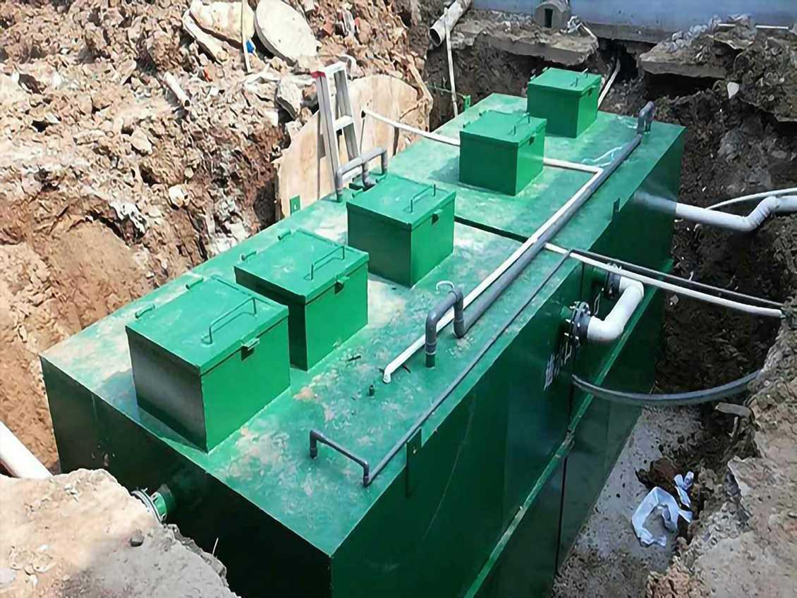 一体化污水处理设备系列出水不达标的原因
